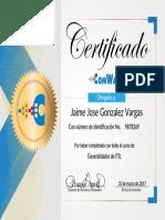 Generalidades de ITIL _Certificado