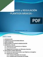 RESERVORIOS Y REGULACION 2017