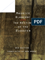 The Writing of the Disaster by Maurice Blanchot (Z-lib.org).Epub