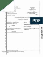Pleasanton Citizens for Responsible Growth Lawsuit #2