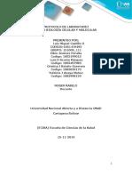 Informe De Laboratorio-Biologia Celular y molecular-