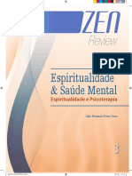 espiritualidade e psicoterapia - Peres