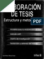 Elaboración de tesis. estructura y metodología - Rivas Tovar Luis Arturo.pdf