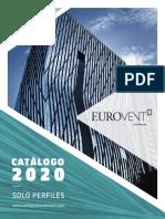 CATALOGO EUROVENT - Perfiles