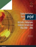 Pisa Indigenous Contextual Factors