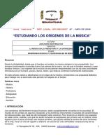 historia de la musica en la prehistoria
