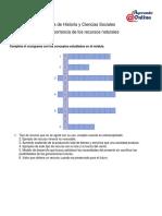 Guía de Historia y Ciencias Sociales - La importancia de los recursos naturales