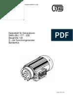 TECNICO GENERADOR Datenblatt für Generatoren der Reihe 78xx
