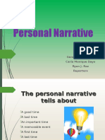 Personal Narratives GCR.ppt