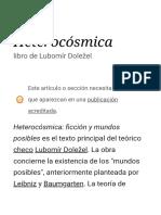 Heterocósmica - Wikipedia, la enciclopedia libre