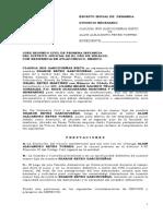 ESCRITO INICIAL DE  DEMANDA claudia