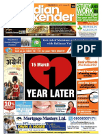 The Indian Weekender | 13 March 2020 | Volume 11 Issue 50