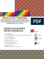 Estudio lesbianas y gays chile estres minoritarios
