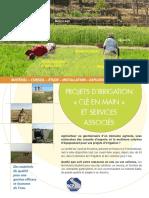 Fiche produit - Projets irrigation clé en main - International - web