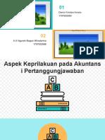 fixx Aspek keperilakuan pada Akuntansi pertanggungjawaban ppt