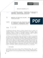 Circular No. 11 RecomendacionesCoronavirus 2020