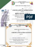 certificate women