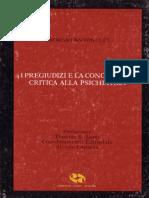 G.ANTONUCCI - I pregiudizi e la conoscenza critica alla psichiatria