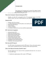 Public Private Partnership_PPT_Outline