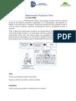 UNIDAD 4 Mantenimiento Productivo Total