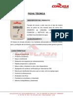 FICHA TECNICA TARRAJEO