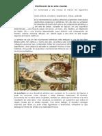Clasificación de Las Artes Visuales