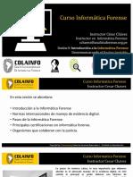 Exposicion Curso Informatica Forense 2020