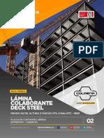 Ficha-Tecnica-Colmena-Lamina-Colaborante-Deck-Steel