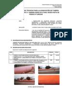 07_TDR - ADQUISICIÓN DE TUBERÍA POILIETILENO HDPE D=900 MM SDR33 SN-2 - ok