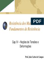 Cap. IV - Tensão e Deformação - Força Normal (1).pdf