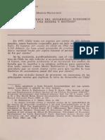 Explicaciones hacer del desarrollo económico chileno