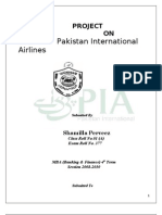 Pakistan International Airlines Project