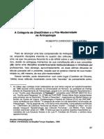 A categoria de (Des)ordem na antropologia - R. Cardoso de Oliveira.pdf