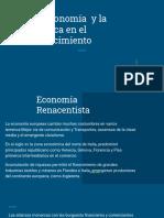 Economía y política en el renacimiento