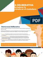 Democracia Deliberativa concepto y actores