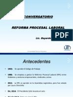 Exposición Reforma Procesal Laboral (17 nov 18) (1)