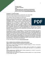 Cronograma Grupo de Estudos 2020-1