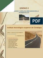 UNIDAD 2 D.C. PAVIMENTOS