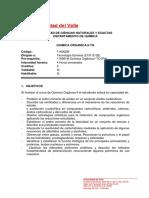 Programa química orgánica