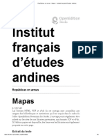 Repúblicas en armas - Mapas - Institut français d'études andines