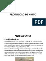 PROTOCOLO DE KIOTO diapos