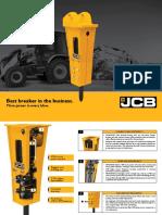 JCB hammer master 36XHD