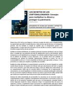 Resumen Libro Criptomillonarios Publicado en AMAZON
