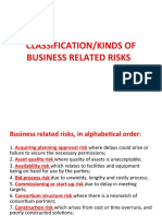 BUSINESS RELATED RISKS