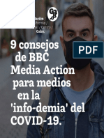 9 consejos de BBC Media Action para medios en la 'info-demia' del COVID-19