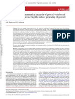 3-Dimensional Numerical Analysis of Geocell