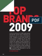 Top Brands 2009