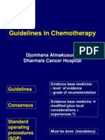 Guidelines in Chemotherapy