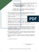 POLITICA DE CONSTRUCTORA