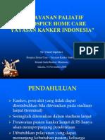 Pelayanan Paliatif dan Hospice Home Care Yayasan Kanker Indonesia